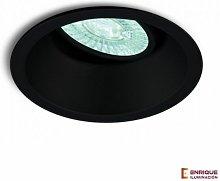 Mantra - Foco empotrable redondo COMFORT | Negro