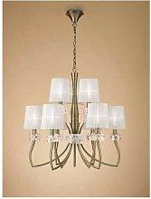 Mantra - Lámpara de gran formato LOEWE cuero