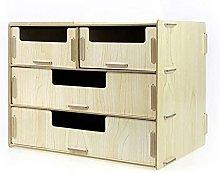 Marcos de archivo Multifuncional de madera Mesa de