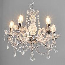 MARIE THERESE: lámpara de araña clásica, 5