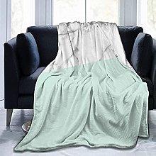 Mármol Blanco Real Medio Pastel Verde Menta Ultra