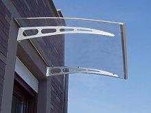 Marquesina NEONA de aluminio - 150 x 90 x 15 cm