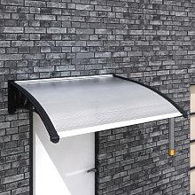 Marquesina para puerta 120x100 cm