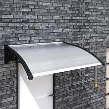 Marquesina para puerta 150x100cm Vida XL