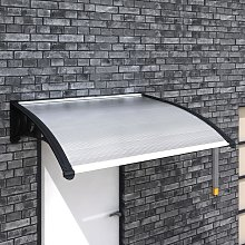 Marquesina para puerta PC 150x100 cm - Hommoo