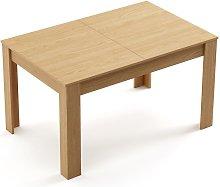 Mc Haus - Mesa de comedor extensible, mesa para
