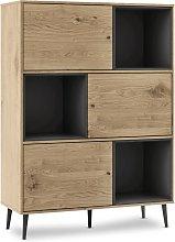 Mc Haus - Mueble aparador con 3 estantes, buffet