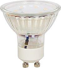 McShine ET10 - Foco LED (GU10, 3 W, 250 lm), color