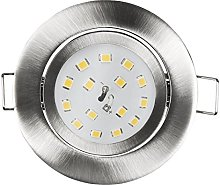 McShine Slim - Foco led empotrable (82 x 28 mm, 5