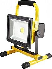 MCTECH - Foco de mano con luz led y batería,