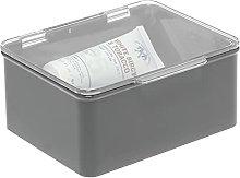 mDesign Caja con tapa para la cocina, la despensa