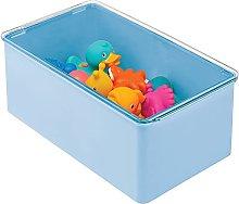mDesign Caja organizadora para guardar juguetes