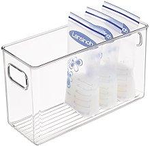 mDesign Cajón de plástico para Alimentos
