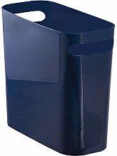 mDesign contenedor basura con asas - Cubo de