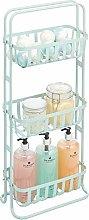 mDesign Estantería de baño móvil – Mueble