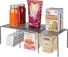 mDesign Estantería de cocina para armarios de