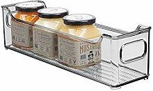 mDesign Fiambrera para el frigorífico – Caja de