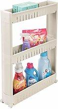 mDesign Mueble auxiliar para lavadero – Compacta