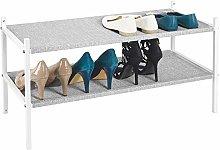 mDesign Mueble zapatero para el armario o el