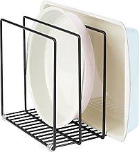 mDesign Organizador de cocina en metal – Soporte