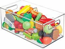 mDesign Organizador de juguetes – Juguetero de