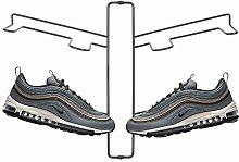 mDesign Organizador de zapatos – Zapatero de