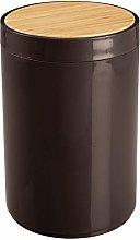 mDesign Práctico cubo de basura para cocina –