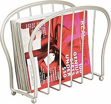 mDesign Revistero de suelo – Elegante cesta de