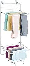 mDesign Tendedero de ropa para colgar – Colgador
