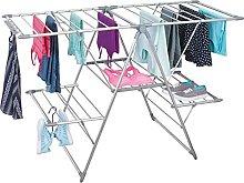 mDesign Tendedero plegable para ropa en color