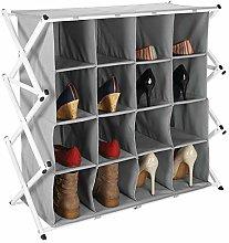 mDesign Zapatero ancho para el pasillo o armario