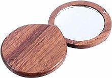 Meijin Espejo pequeño 1 pieza espejo de tocador