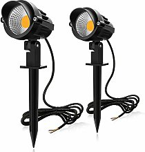 MEIKEE 2PCS Foco Proyector Exterior 7W LED