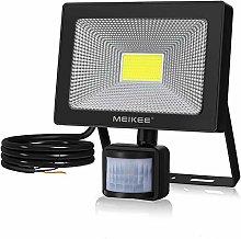 MEIKEE Foco LED con detector de movimiento, 50 W.
