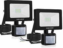 MEIKEE Foco LED de 10 W con detector de