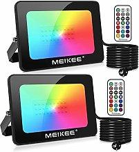 MEIKEE Foco Led RGB 15W, Luz RGB Led de 16 Colores