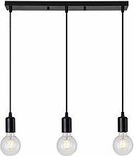 Mengjay Vintage Lámpara Colgante Industrial