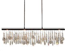Menzel Anteo lámpara colgante LED, cortina cristal
