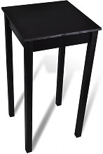 Mesa alta de bar negra de MDF 55x55x107 cm Vida XL