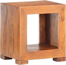 Mesa auxiliar madera maciza de sheesham 37x29x40