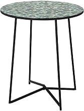 Mesa auxiliar Sus de cristal