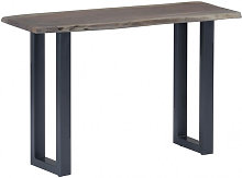Mesa consola 115x35x76cm madera maciza de acacia y