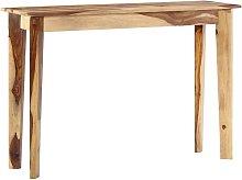 Mesa consola de madera maciza de sheesham