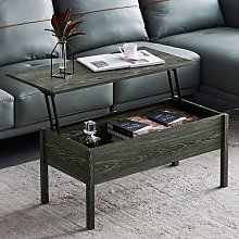 Mesa de café con mesa extensible y espacio de