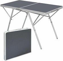 Mesa de Camping 120x60x70cm mobiliario de acampada