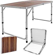 Mesa de camping aluminio picnic portable barbacoa