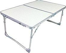 Mesa de camping, plegable, portátil, ligera, mesa