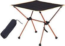 Mesa de camping portátil, mesa plegable ligera