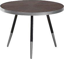 Mesa de centro de madera con patas en