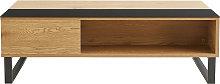 Mesa de centro elevable en madera y metal WYNN